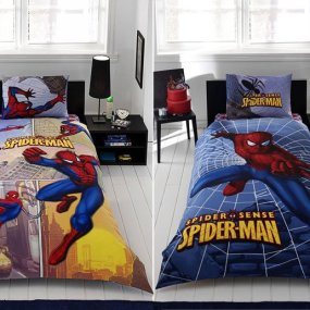 Lenjerie de pat copii TAC Disney - SPIDERSENSE