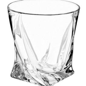 Pahare Cristal Bohemia pentru Whisky - QUADRO
