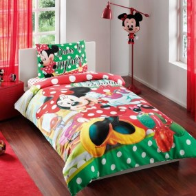 Lenjerie de pat copii TAC Disney - MINNIE BEATY