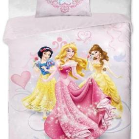 Lenjerie de pat copii bumbac PRINCESS ELEGANCE