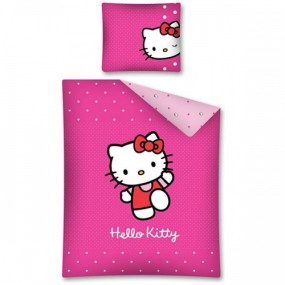 Lenjerii de pat HELLO KITTY - PINK KITTY