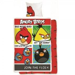 lenjerie de pat copii Angry Birds AB-014