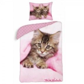 Lenjerie de pat copii CAT KK25