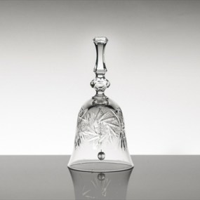 clopotel din cristal bohemia imperial