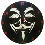 Ceasuri de perete decorative - GUY FAWKES 2