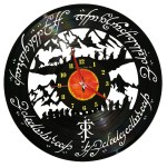 Ceasuri din discuri de vinil LORD OF THE RINGS 1080x1080
