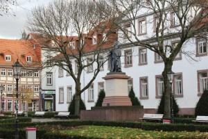 Figure 3 - Wilhelmsplatz, the offical centre of the University of Göttingen. Credit: L. Seyfullah.