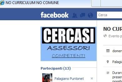 """""""NO CURRICULUM NO COMUNE"""": Raccolta Firme a Palagiano."""