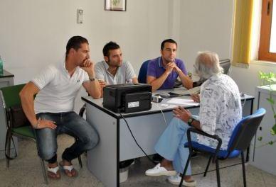 Conferenza stampa di Tagariello, Lippolis e Latagliata. di Giuseppe Favale