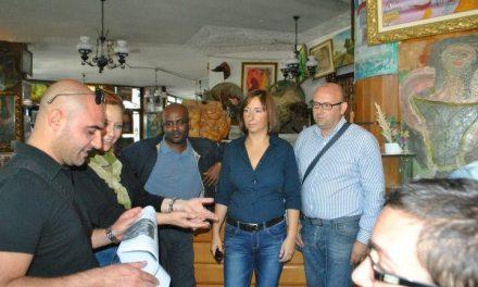 L'Amministrazione presente al trasferimento immigrati a Chiatona