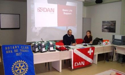 Si conclude il corso di Primo Soccorso- BLS promosso dal Rotary Club Riva dei Tessali per 10 studenti dell'Istituto Bellisario