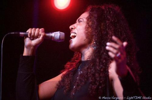 Sherrita Duran la cantante Jazz californiana a Castellaneta Marina