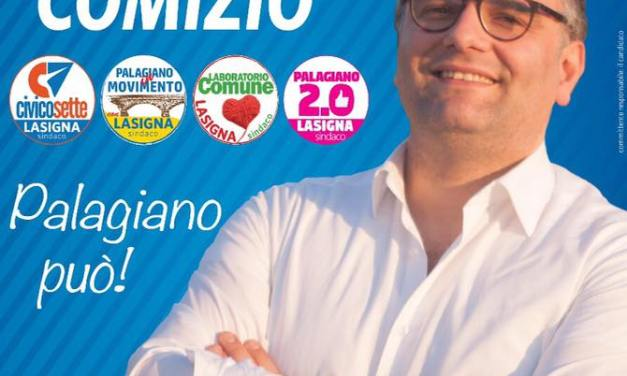 Stasera venerdi 16 giugno pubblico comizio di Domiziano Lasigna