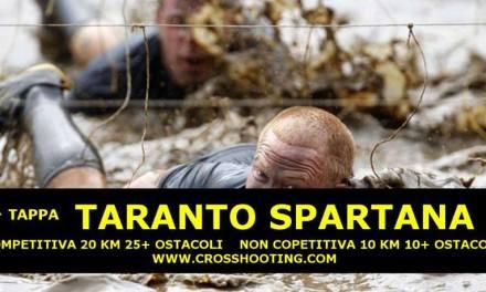 """Nella pineta di Palagiano  la """"Città Spartana"""" torna a farsi sentire."""