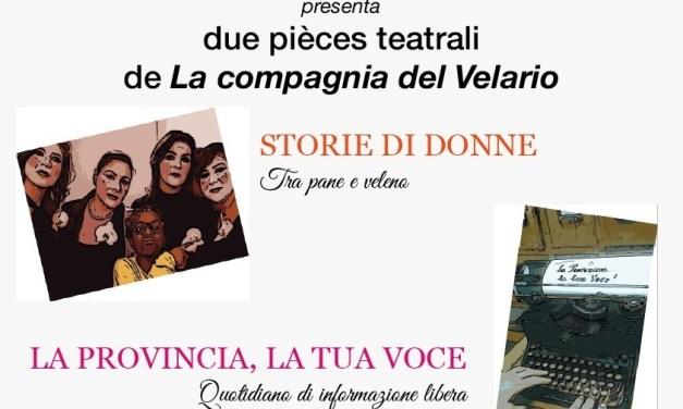 """""""STORIE DI DONNE TRA PANE e VELENO"""""""