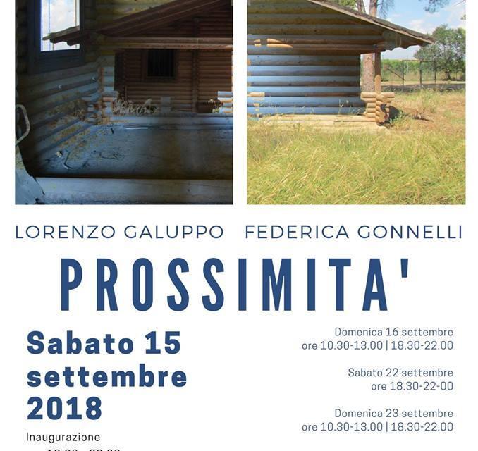 """A Palagiano: """"Prossimità"""""""