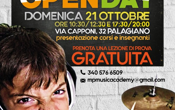 Open Day MP Music Academy 2018