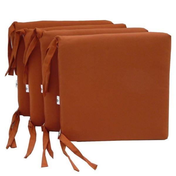 Set di 4 cuscini 40x40x5 - Made in Italy - Palarasol