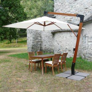 ombrellone giardino Timbers