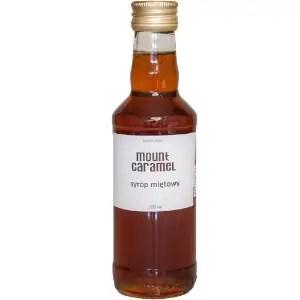 Syrop Miętowy, syrop do kawy, Mount Caramel