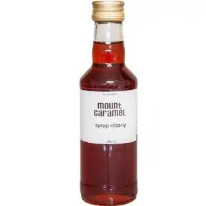 syrop różany, syrop różany do kawy, Mount Caramel