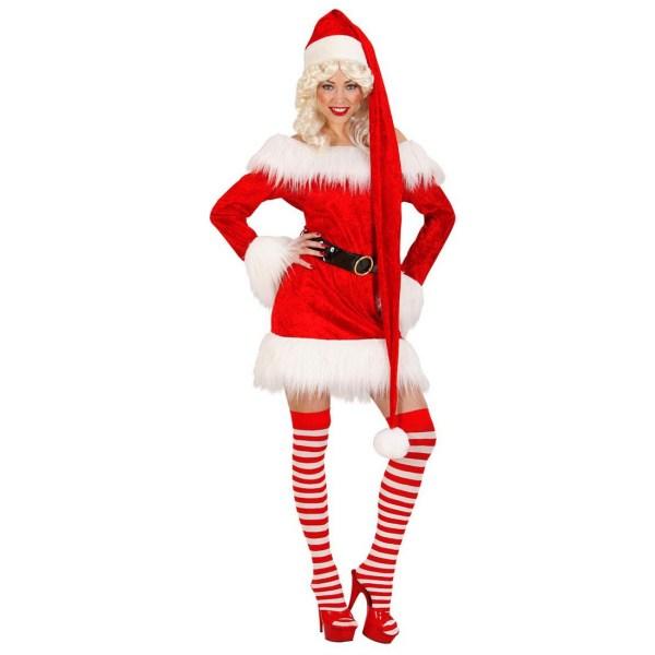 XXL Weihnachtsmann Mütze Nikolaus extra lang, 7,99