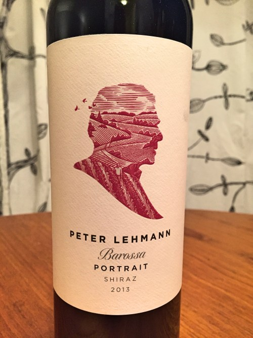 Peter Lehmann Portrait Shiraz 2013 label