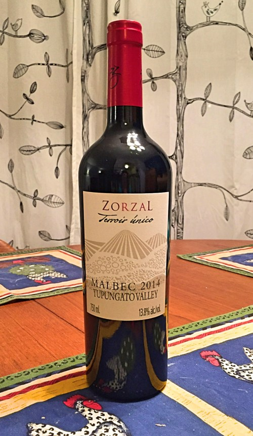 Zorzal Terroir Unico Malbec 2014