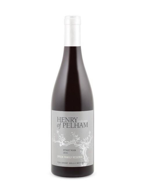 Henry Of Pelham Speck Family Reserve Pinot Noir 2010