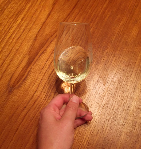Australia Semillon in glass