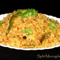 MoongDal Rice Recipe| Easy Hesaru Bele anna Recipe