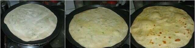 Bili Holige / Stuffed RiceFlour Paratha / Rice Flour Puran Poli