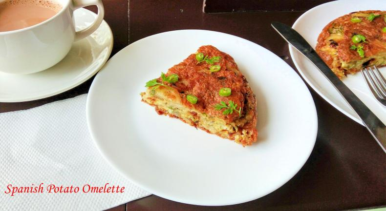 spanish potato omelette