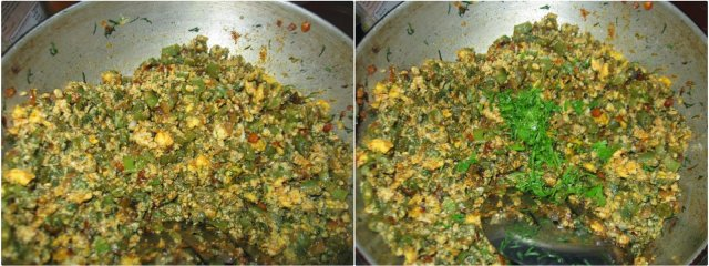 French Beans Egg Bhurji