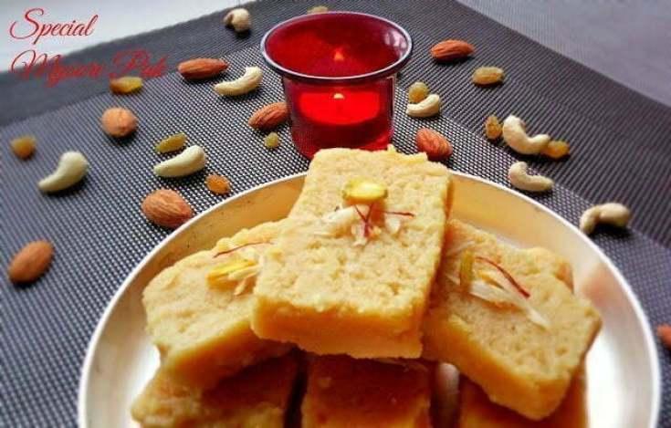 Special Mysore Pak | Soft Mysore Pak Recipe