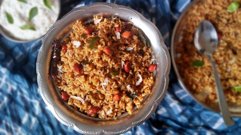 Iyengar Puliyogare Recipe