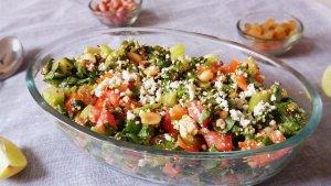 Palak Paneer Salad