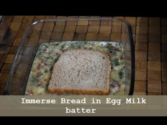 Savoury Bread Toast