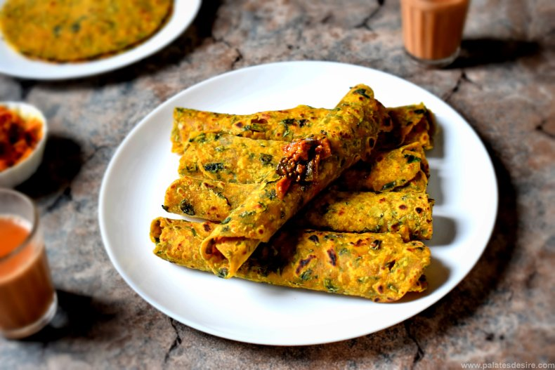 Methi Thepla  Recipe | Gujarati Thepla Recipe