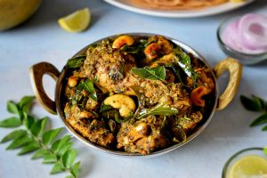 pepper chicken with curry leaves