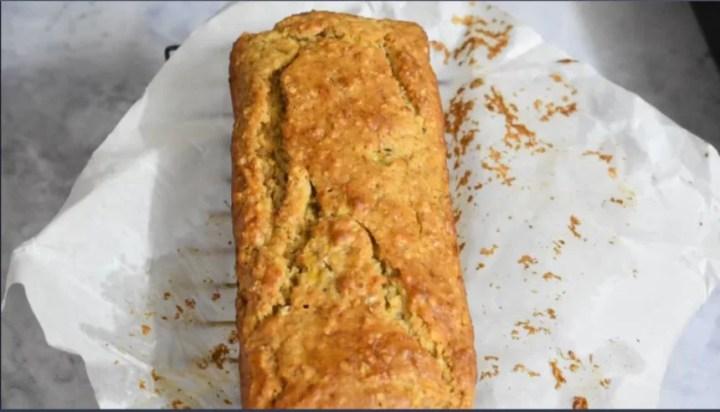 Easy Banana Bread | Eggless Bread Recipe