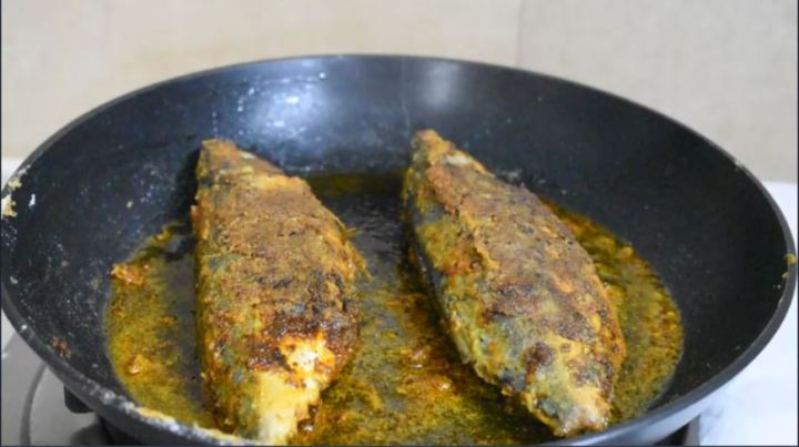 Bangda fish fry|Mackerel fish fry recipe