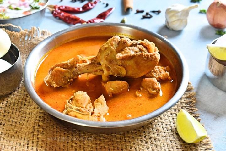 Koli Saaru   Chicken Curry - Karnataka Style