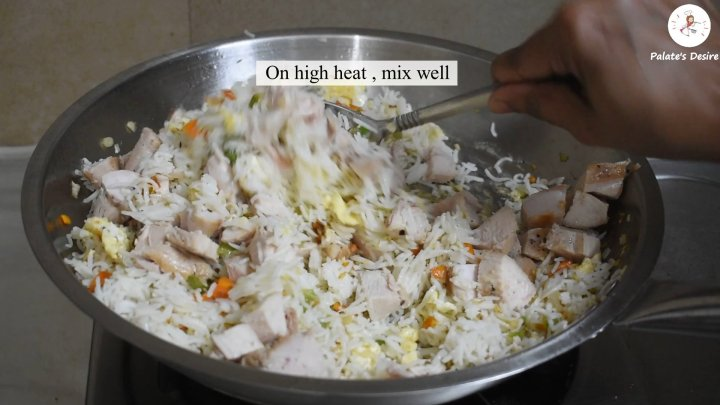 Chicken Fried Rice | How to make Resturant Style fried rice
