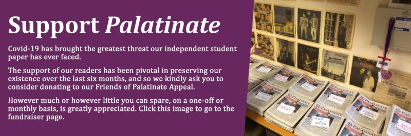 Donate to Palatinate Banner