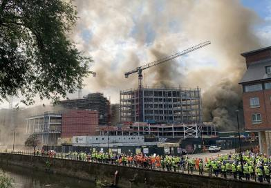Full story: Durham construction site fire