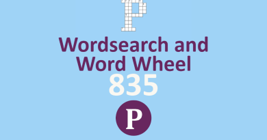 Wordsearch and Word Wheel 835