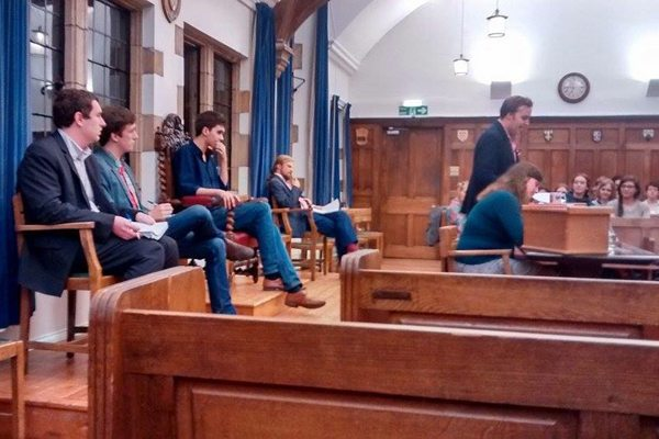 Members of Durham Union Society also rejected a 'Free Education' motion last Wednesday