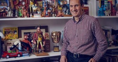 Interview speaks to David Sproxton, co-founder of Aardman Animations