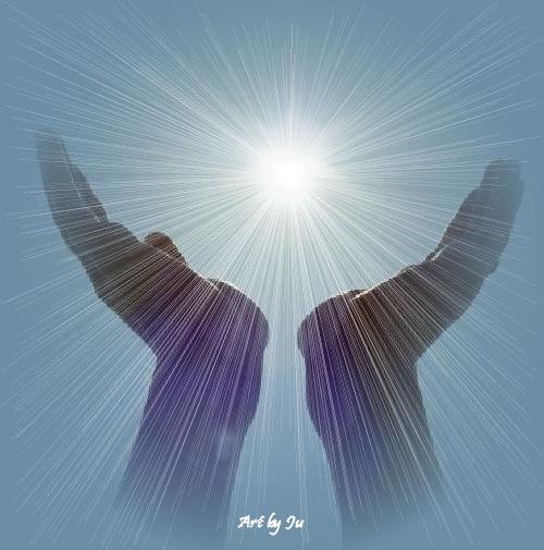 Terço pedindo a Mão do Senhor, para nos levantar.